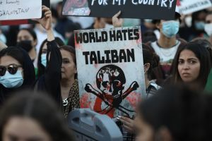 Protest Against The Taliban And Pakistan