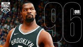 NBA 2K22 Player Ratings