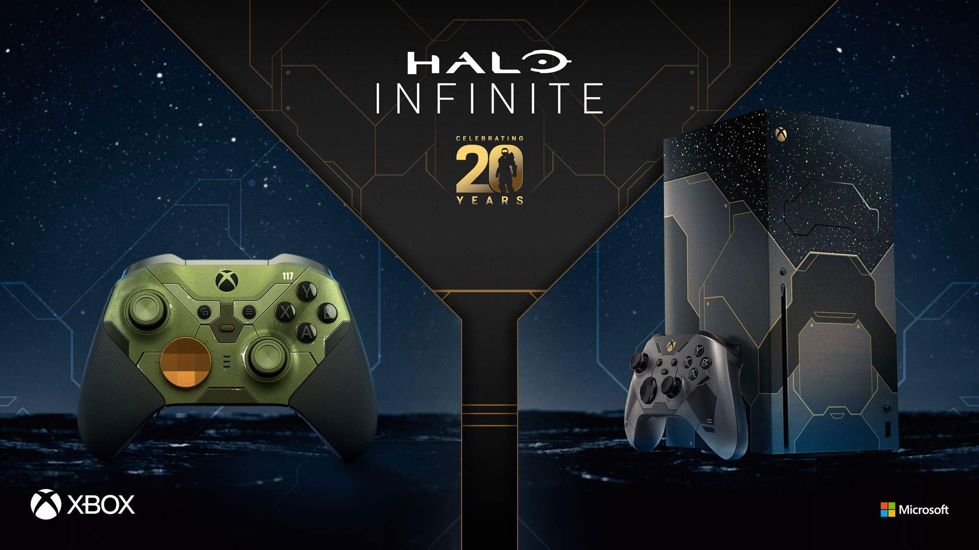 Xbox Series X – Halo Infinite Limited Edition & Elite Series 2 Controller