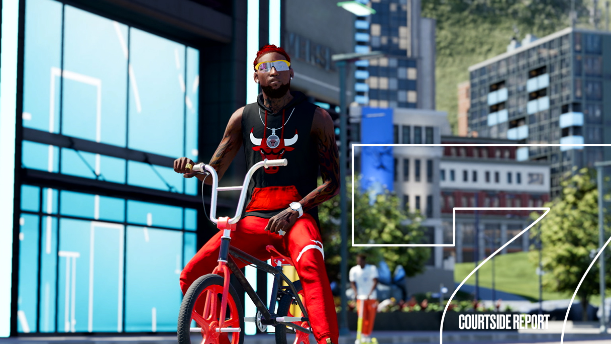 HHW Gaming: 'NBA 2K22' Courtside Report #7 Highlights The City & Reveals You Can Have A Rap Career