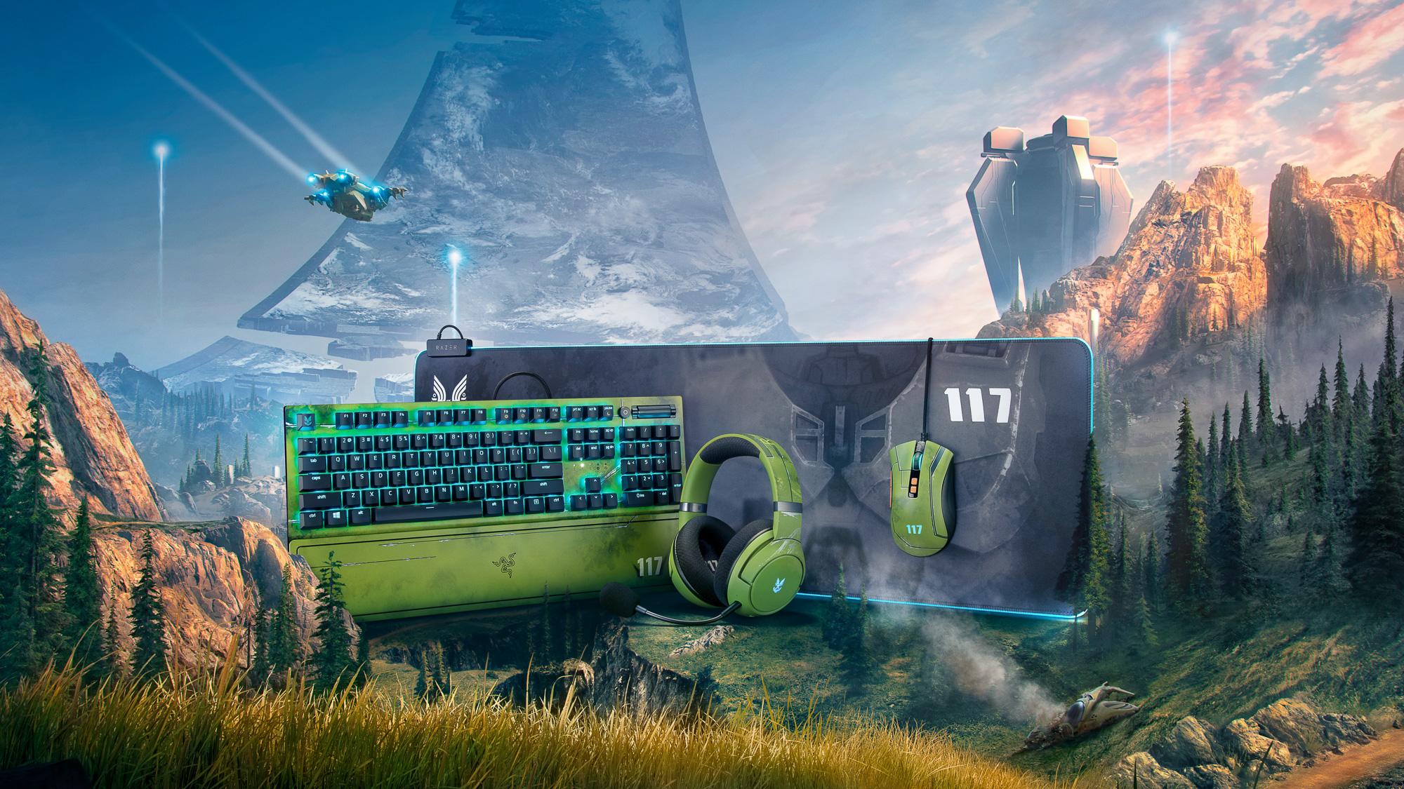 "HHW Gaming: Razer Announces New 'Halo Infinite"" Gaming Accessories"