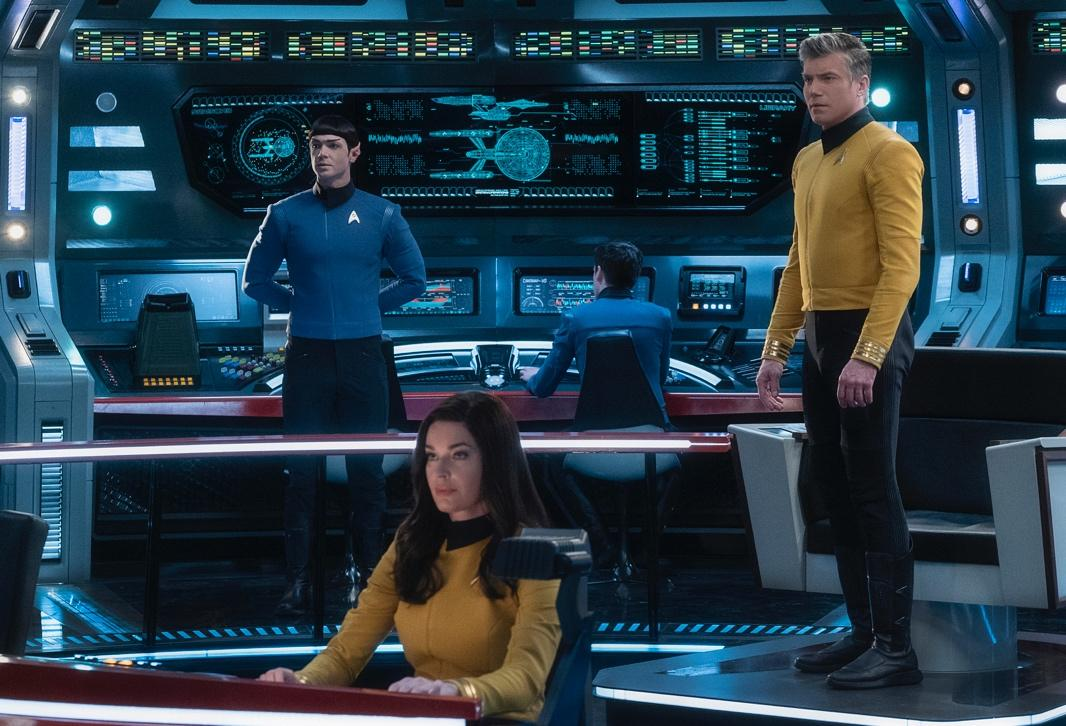 'Star Trek: Strange New Worlds' Trailer Introduces Old & New Characters
