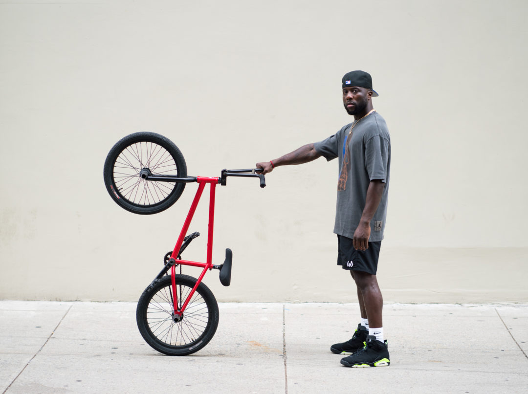 Jordan Brand Makes Nigel Sylvester Its First BMX Athlete