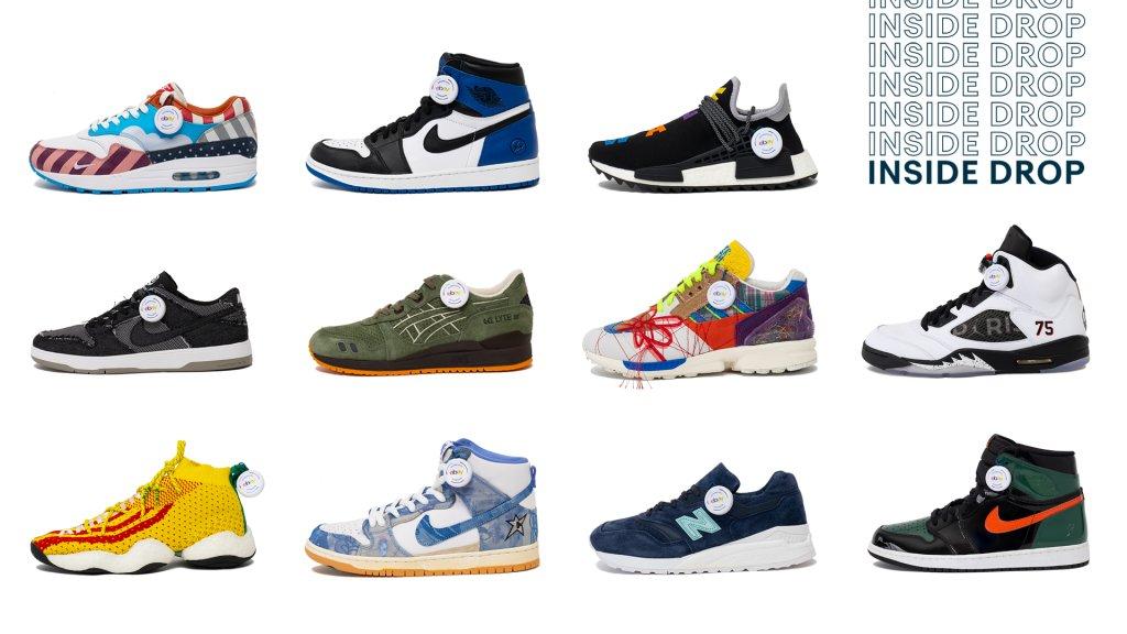 eBay The Drop Sneakers