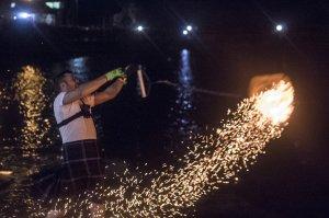 Stonehaven New Year Fireballing