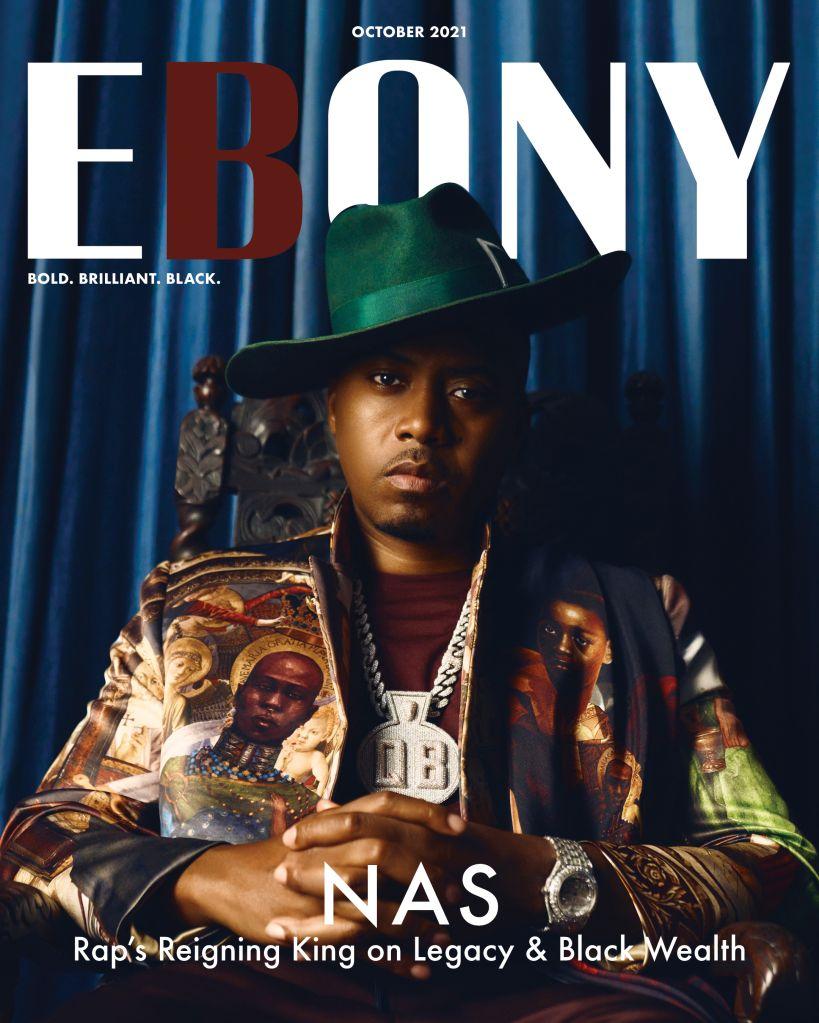 Nas x Ebony Magazine