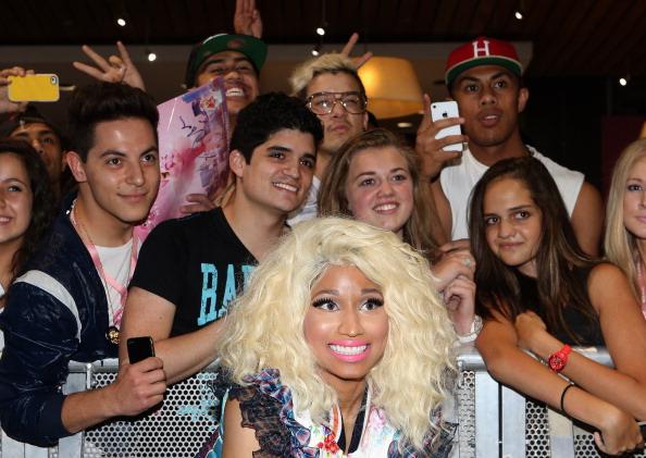 Nicki Minaj Fans Stage Protest In Front of CDC Headquarters In Atlanta
