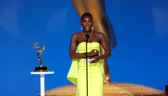 Michaela Coel Makes History As 1st Black Woman To Win Emmy For Limited Series Writing