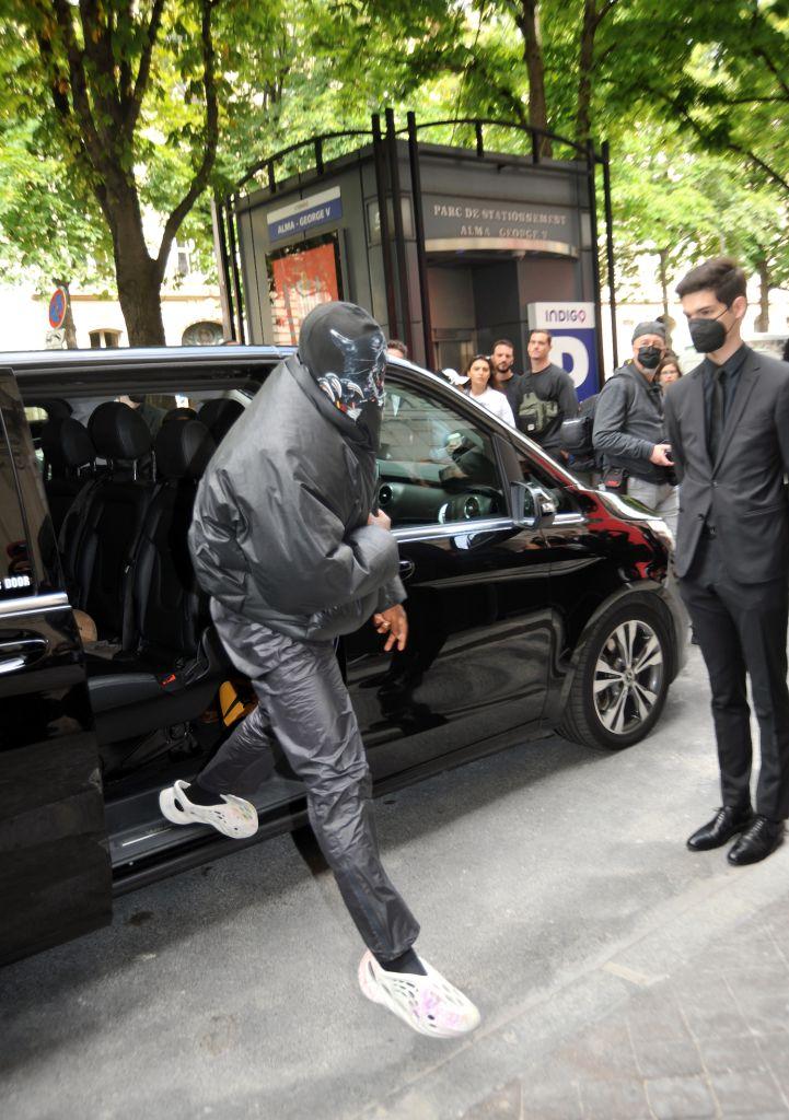Celebs attend the Balenciaga Haute Couture in Paris, France