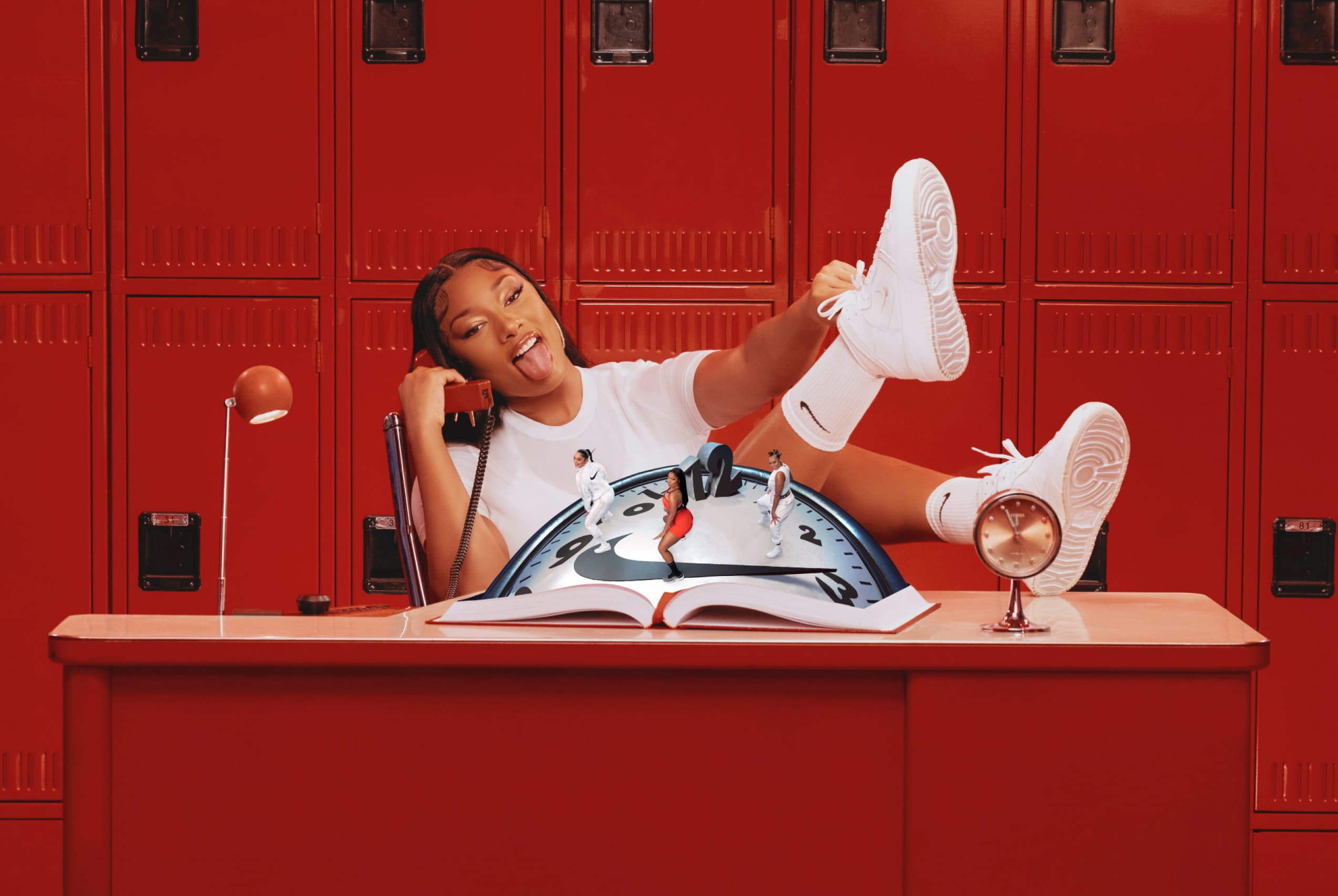 """The Hot Girl Coach Is Here: Megan Thee Stallion & Her Knees Star In Nike's Latest """"Play New"""" Campaign"""