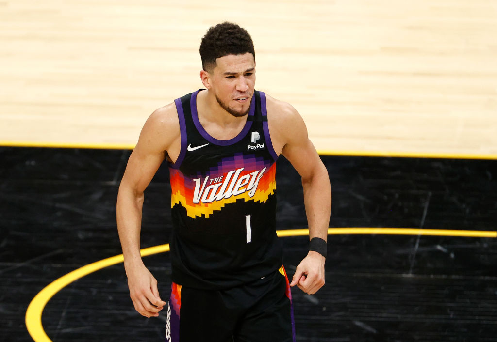 Devin Booker Reveals He Is Battling COVID-19 During Twitch Stream