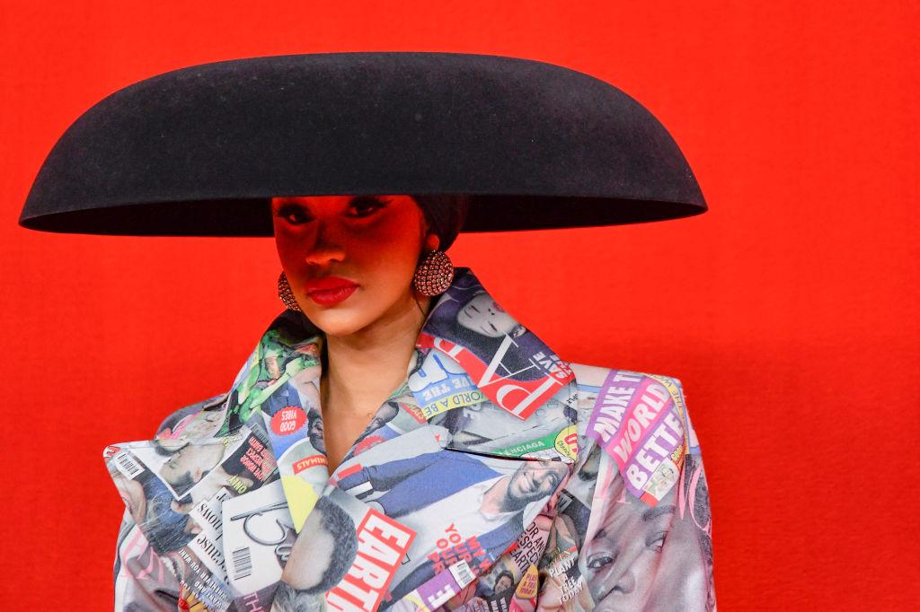 Cardi B & Offset Show Out At Balenciaga Show During Paris Fashion Week
