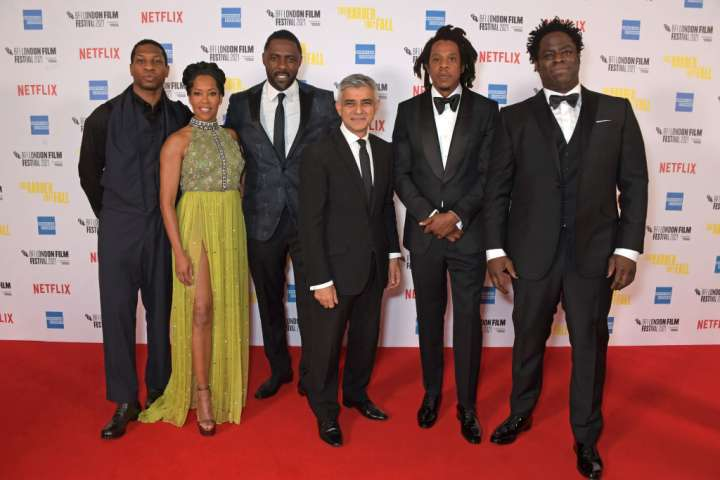 """""""The Harder They Fall"""" Opening Night Gala - 65th BFI London Film Festival"""