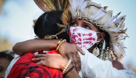 Indigenous People's Day Rally
