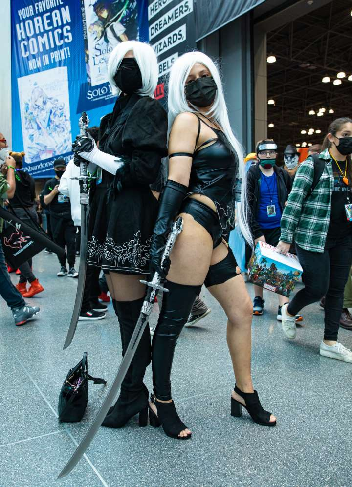 2B and A2 (NieR : Automata)