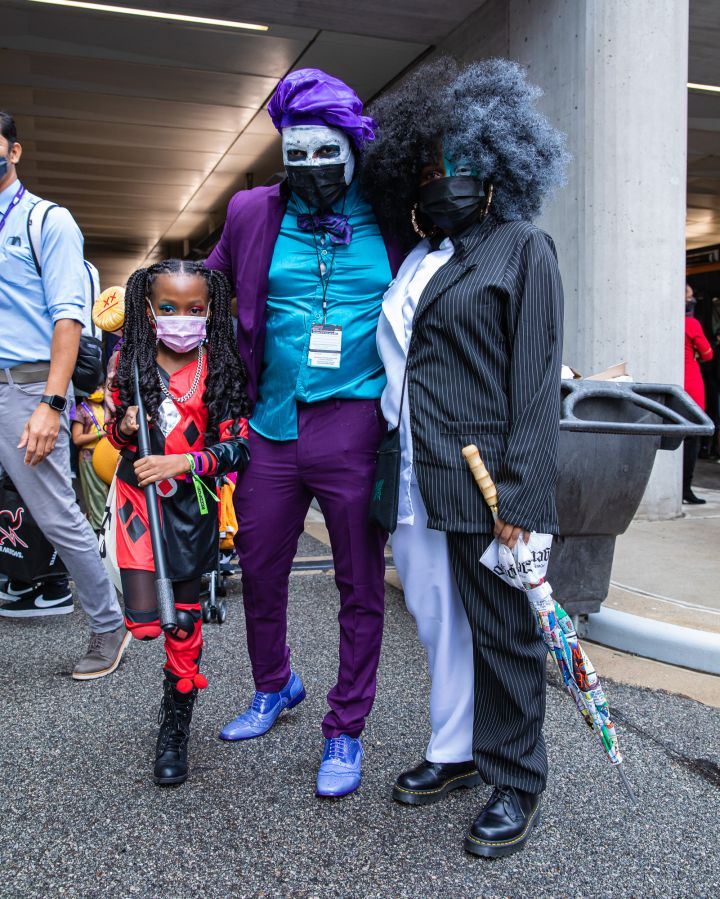 Harley Quinn, The Joker and Two-Face