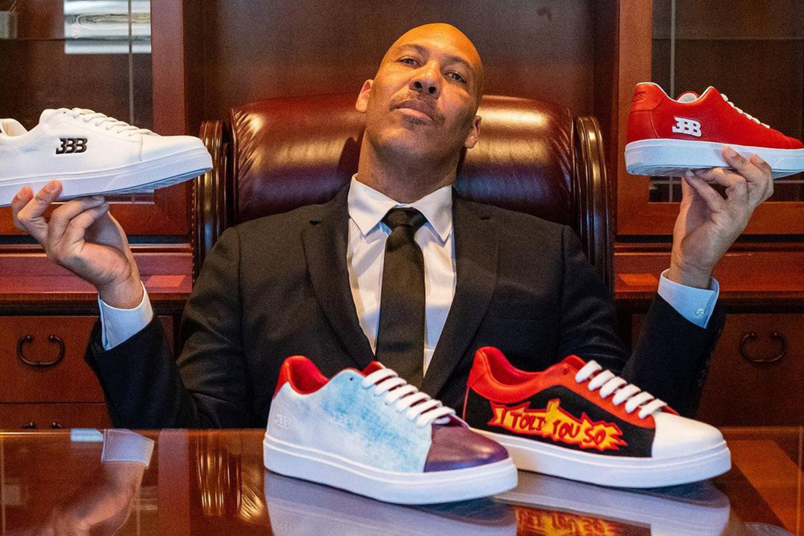 """Twitter Reacts To Big Baller Brands New $695 """"Luxury Lifestyle"""" Sneaker"""