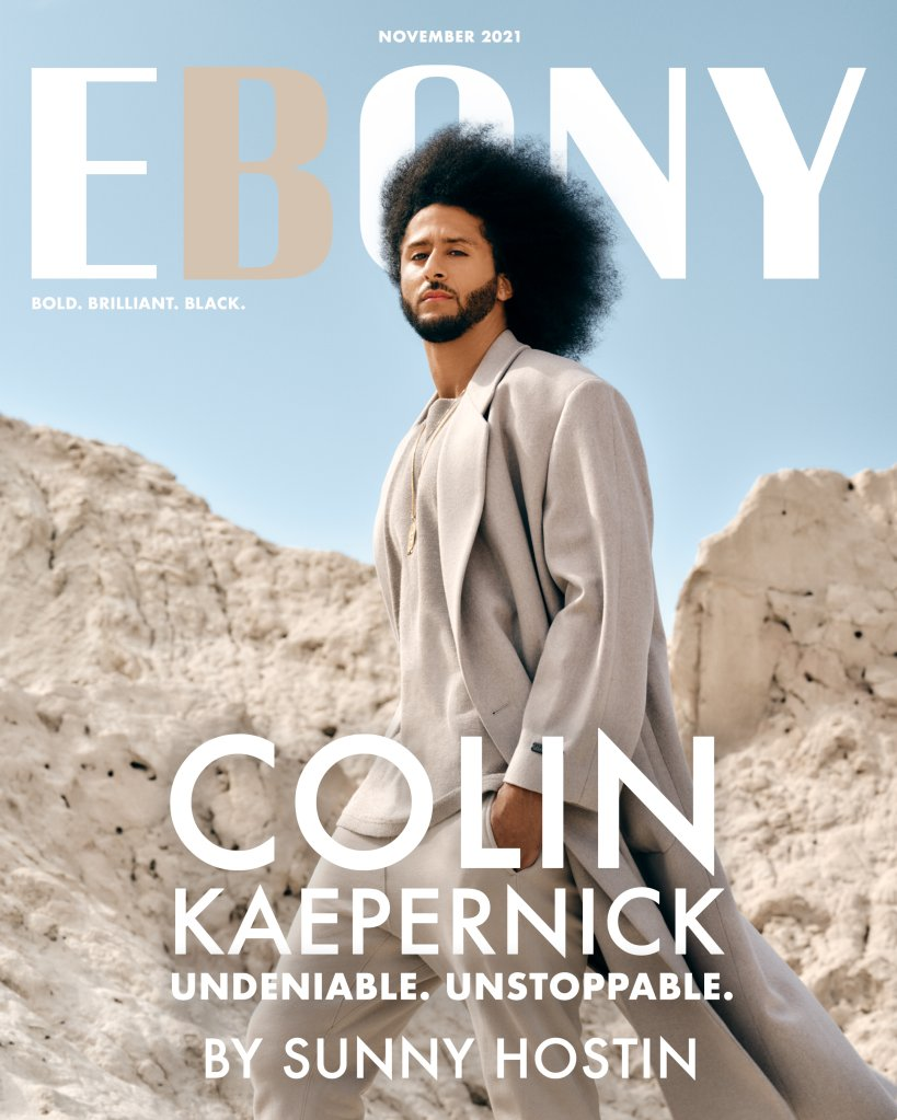 Colin Kaepernick x Ebony