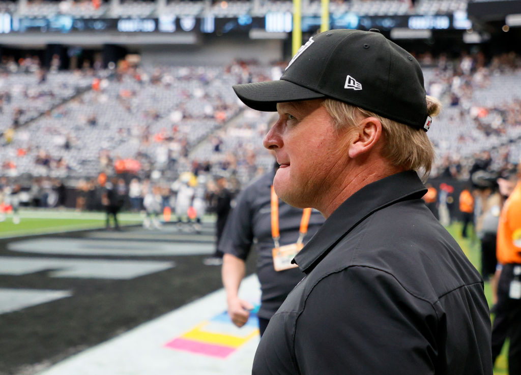 Jon Gruden Will Be Removed From 'Madden NFL 22' Following Email Scandal